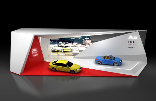 奥迪汽车展厅设计-产品展厅设计-达岸品牌营销咨询